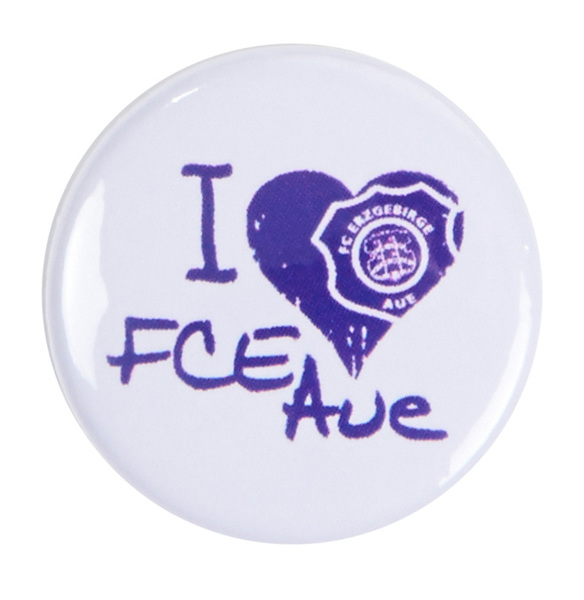I love FCE Aue Button